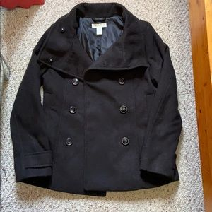 H&M Double Breasted Peacoat